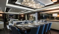 FLEUR - formal dining interior